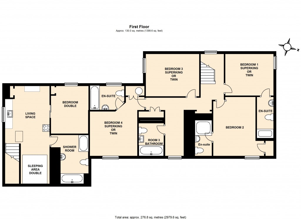 The Mardale First Floor Plan